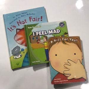 Bundle 3 books -baby